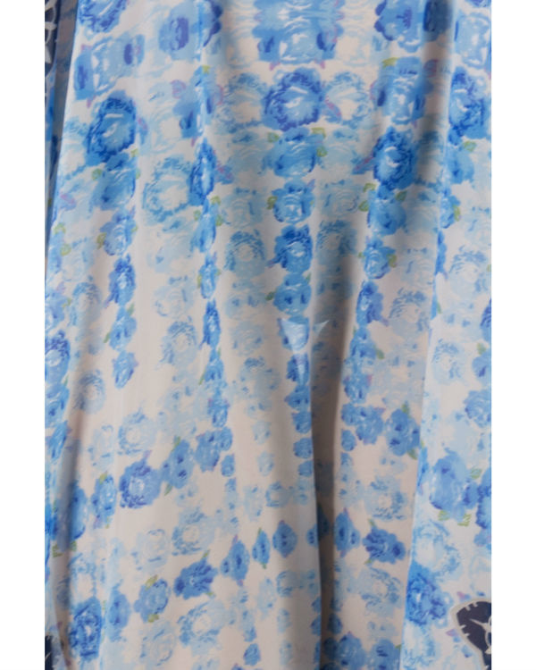 Blue rose kaftan 3