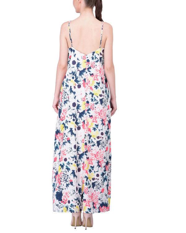 Color spray dress 2