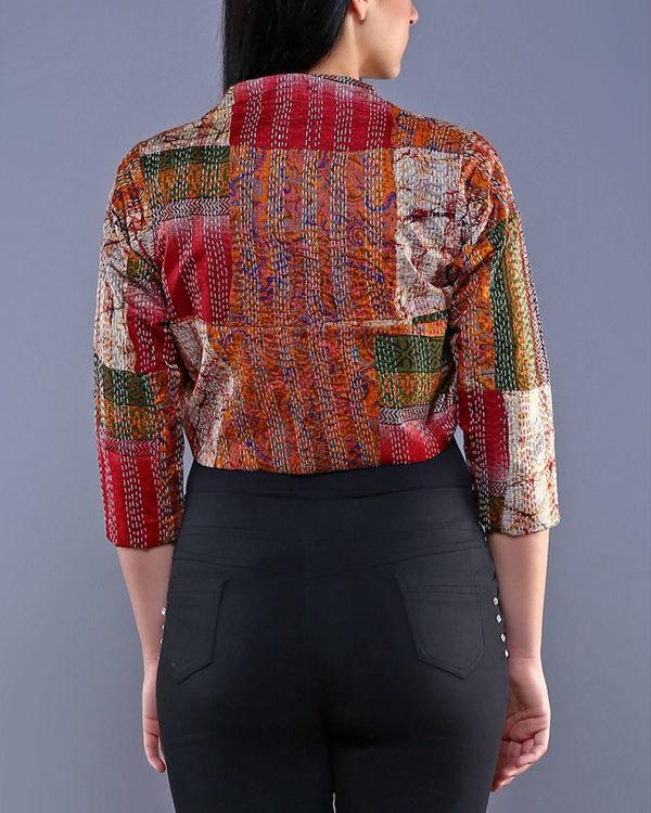 Vintage silk shrug 1