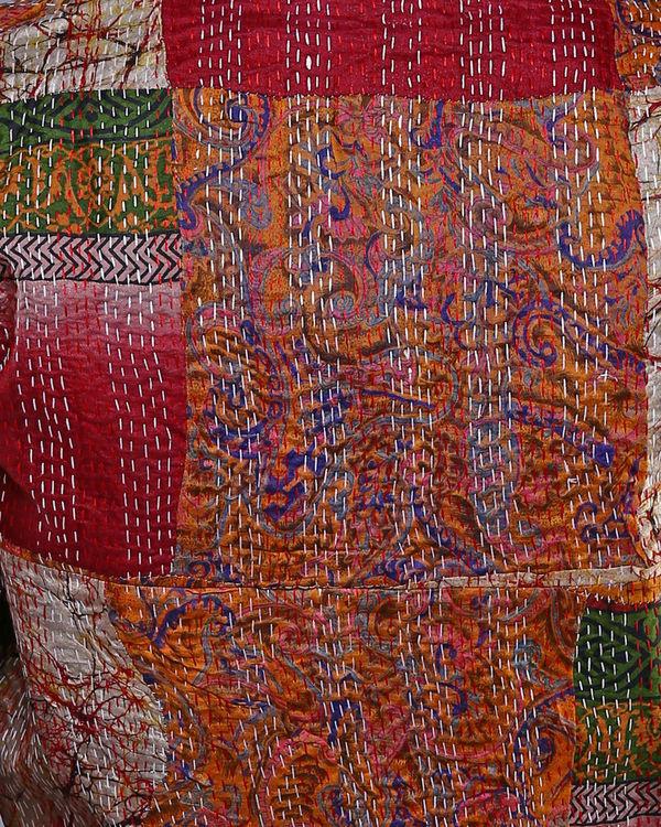 Vintage silk shrug 3