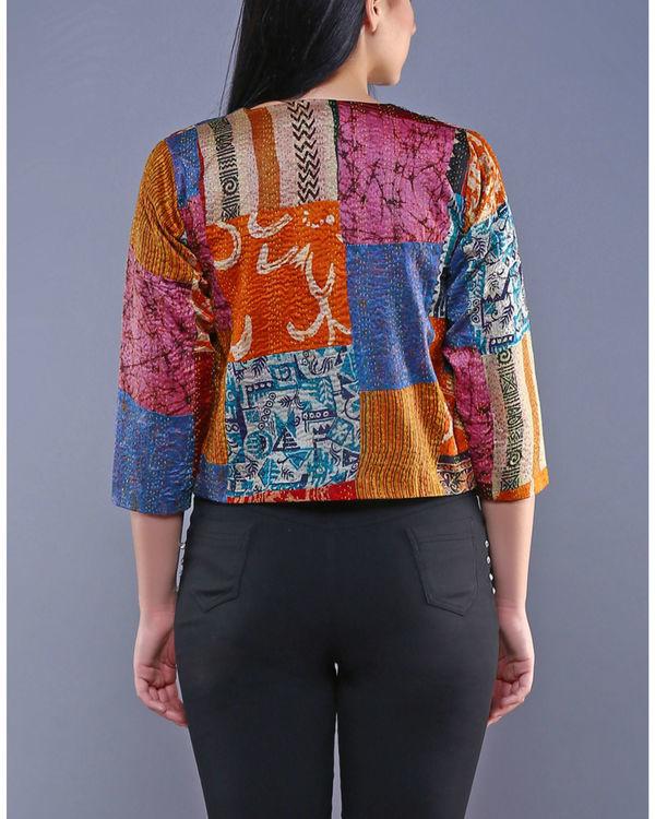 Vintage silk jacket 1