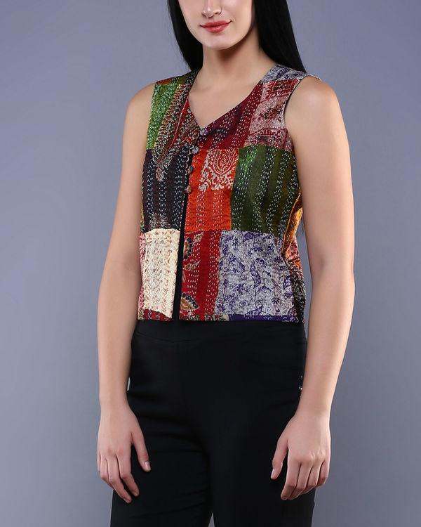 Vintage silk bolero 1