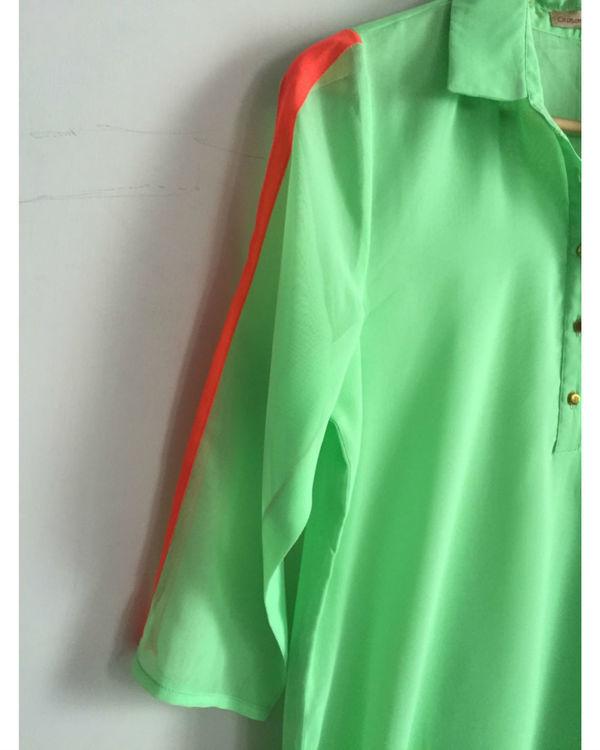 Mint green kurta 2