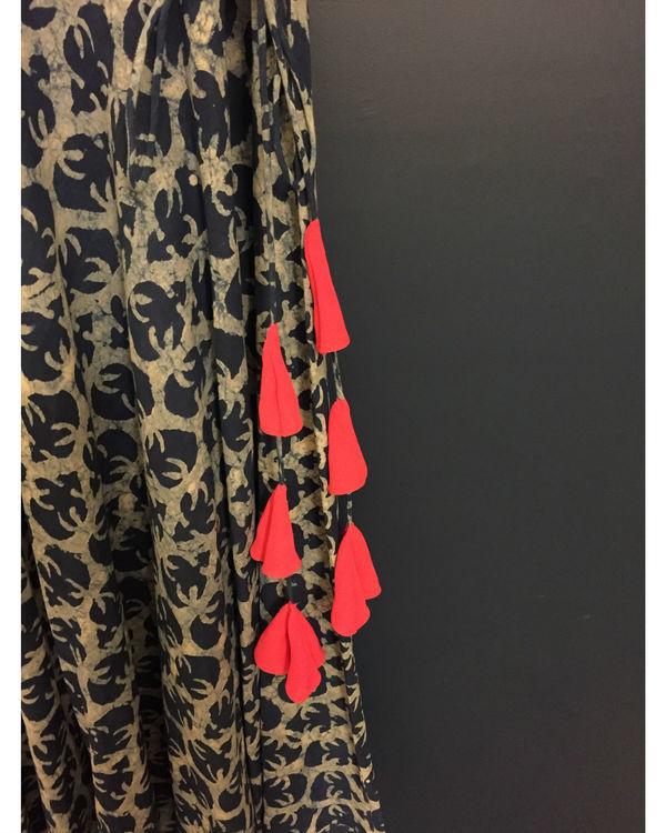 Indigo maxi dress 1