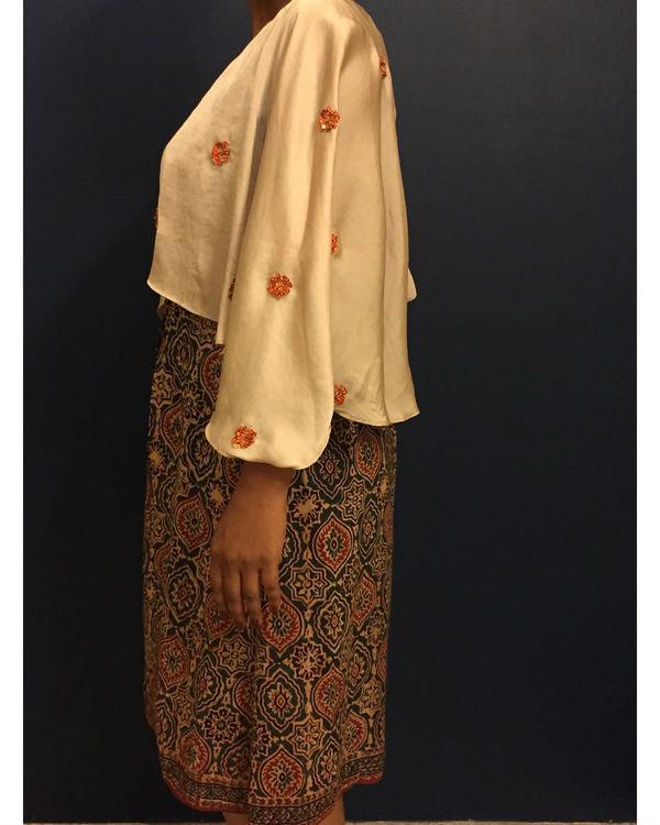 Kutch cape dress 1