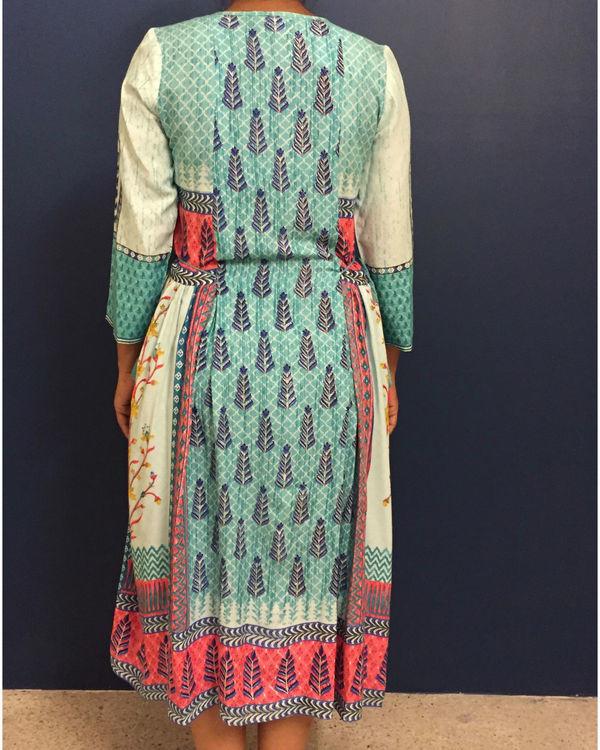 Blue banjara dress 2