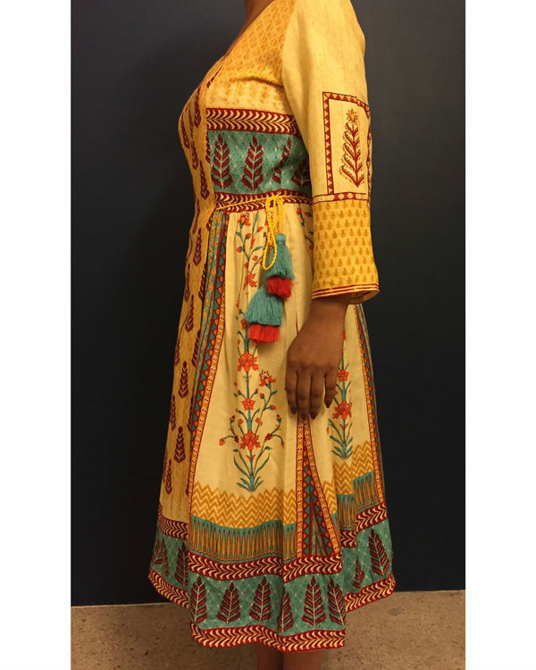 Yellow banjara dress 1