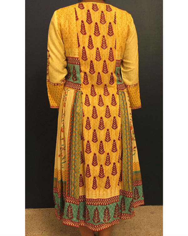 Yellow banjara dress 2