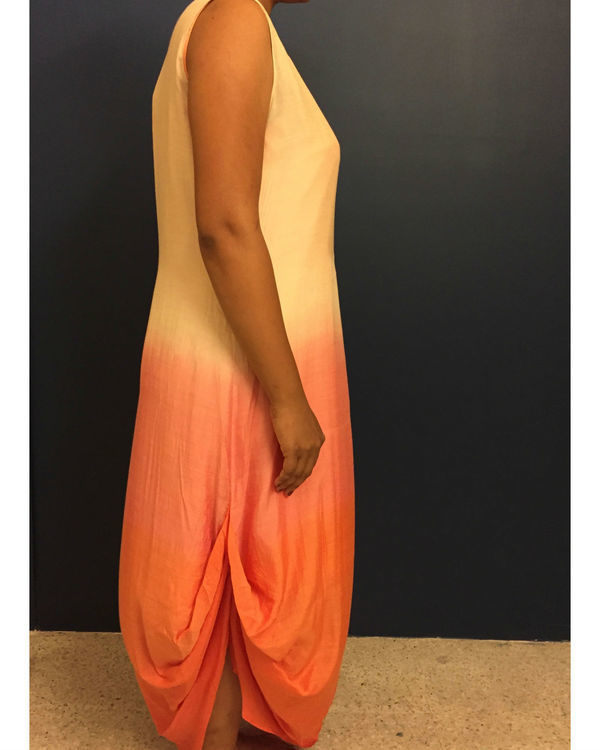 Pink ombre dress 1