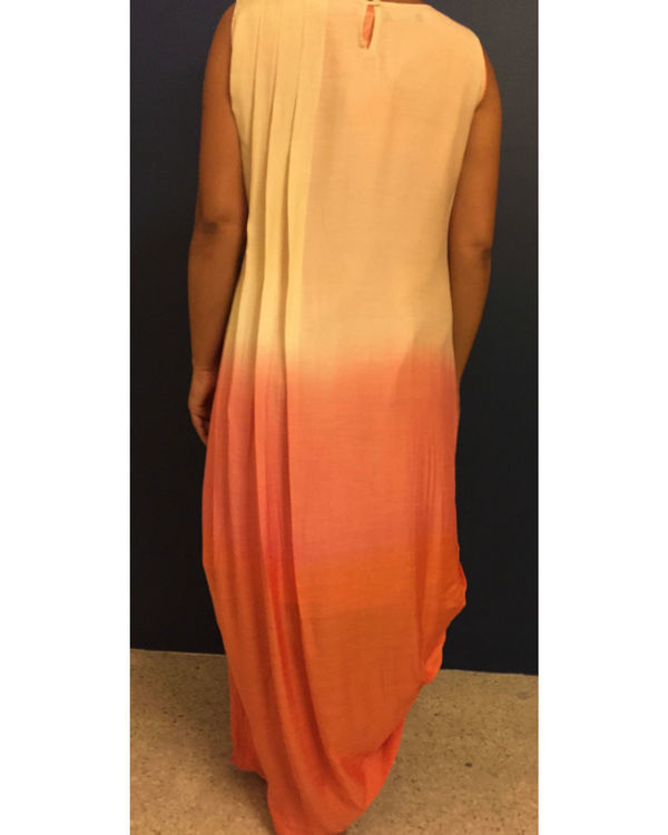 Pink ombre dress 2