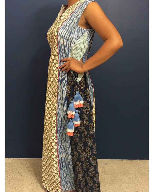 Ladder bagru dress 1