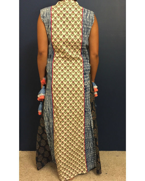 Ladder bagru dress 2