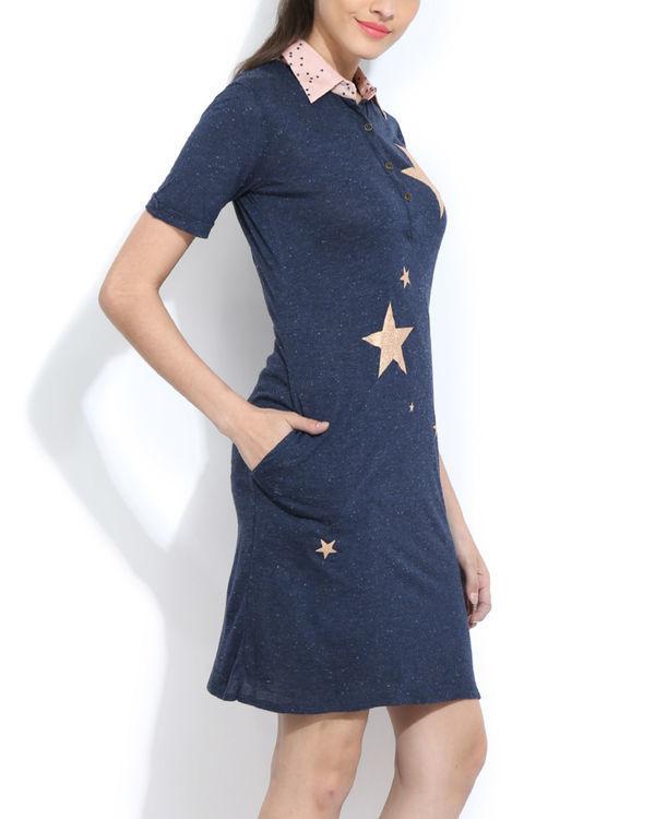 Starry shirt dress 1