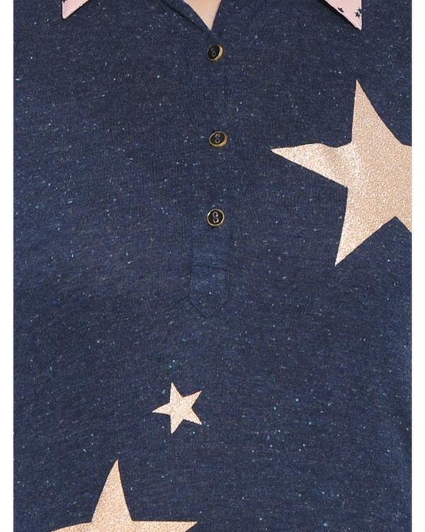 Starry shirt dress 3