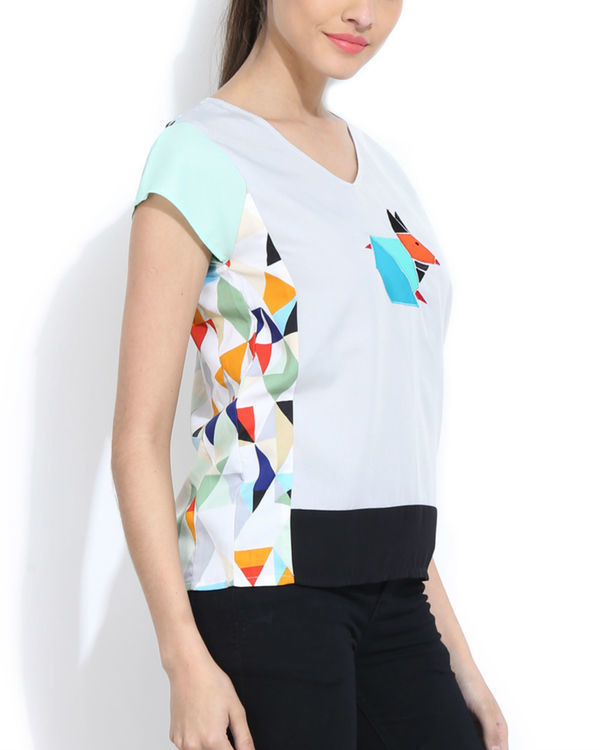 Quirky applique top 1