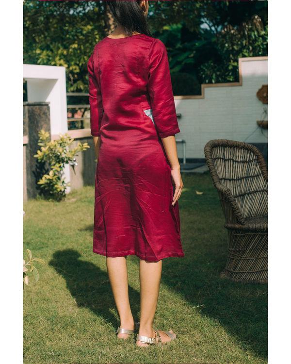Mulberry chanderi dress 2