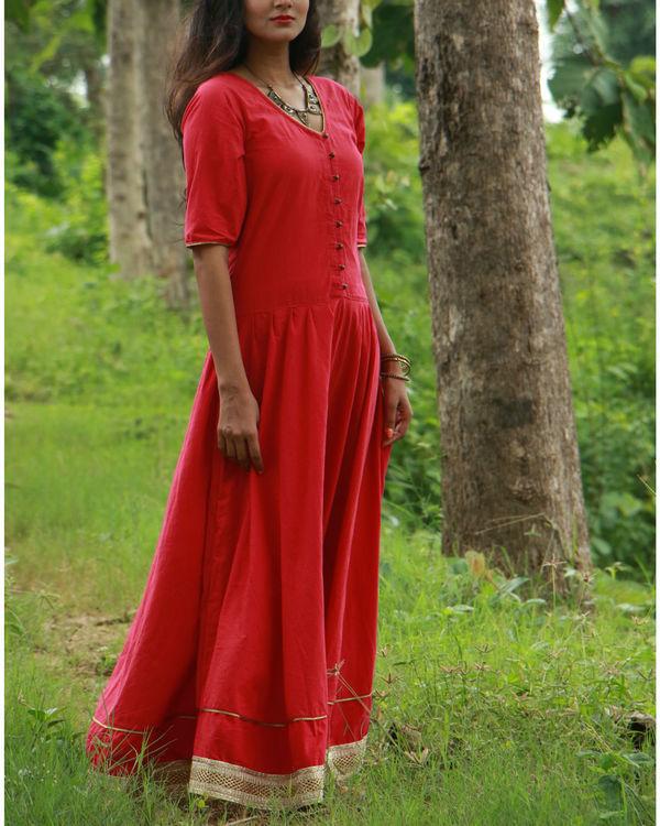 Red tara dress 1