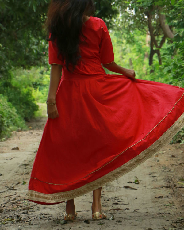 Red tara dress 2