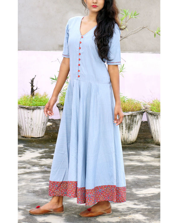 Ice blue tara dress 1