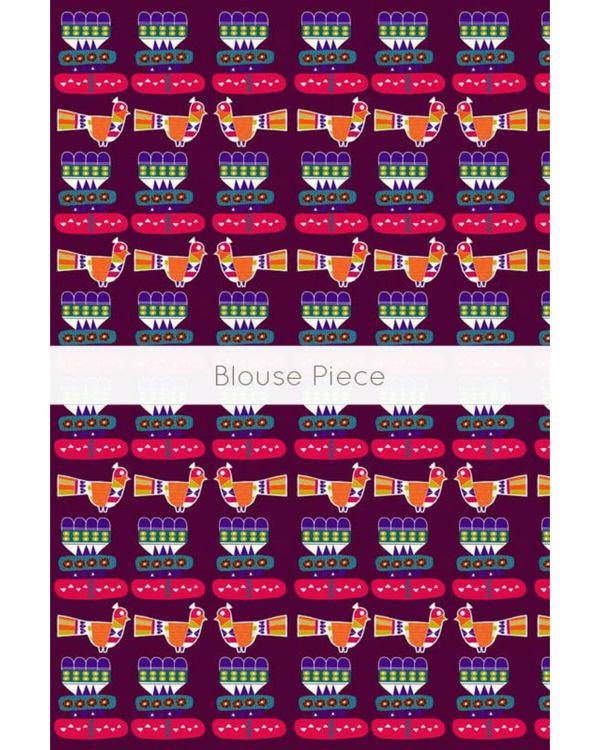 Blocked bird sari 3