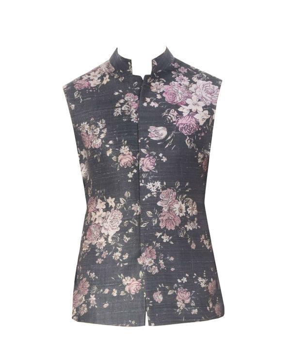 Ivory floral printed jacket 3