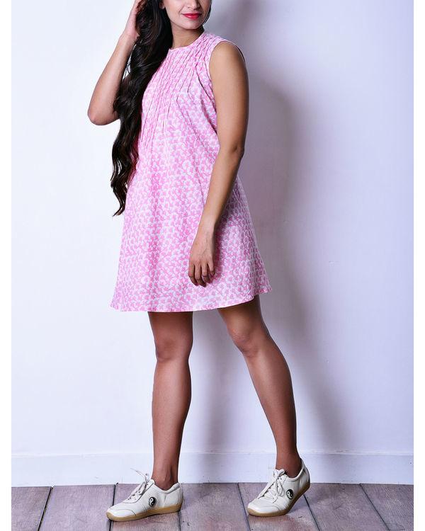 Pink pintuck dress 2