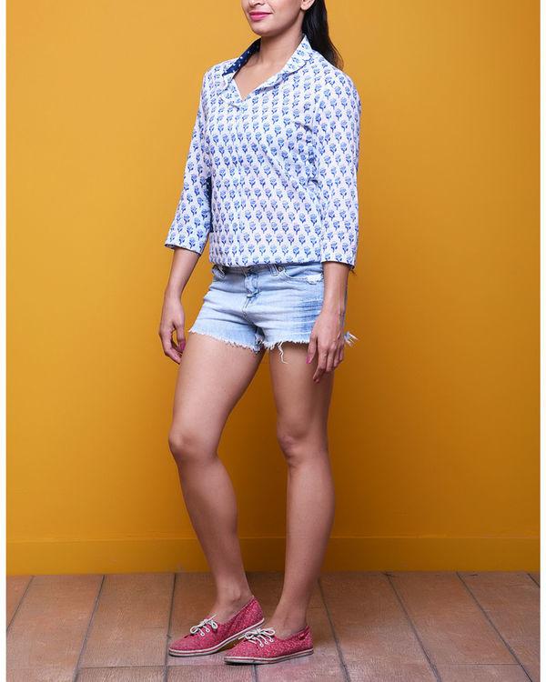 Blue booti shirt 1