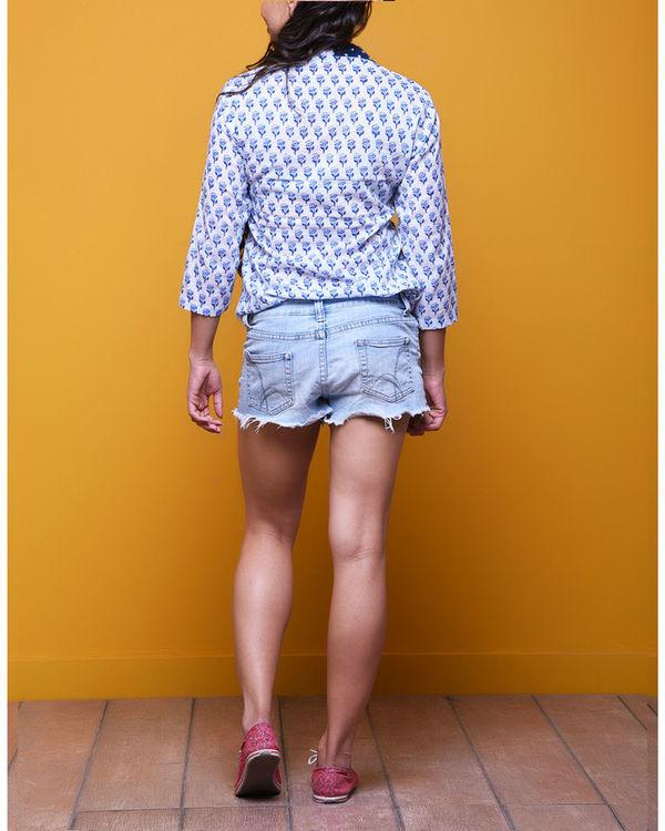 Blue booti shirt 2