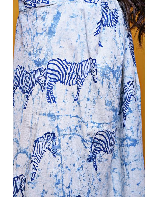 Zebra wide culottes 1