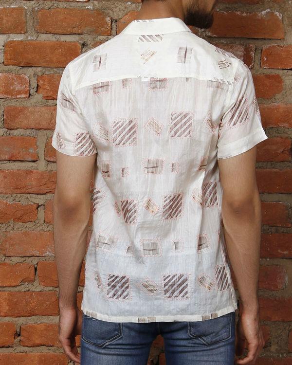 Pink silk shirt 1