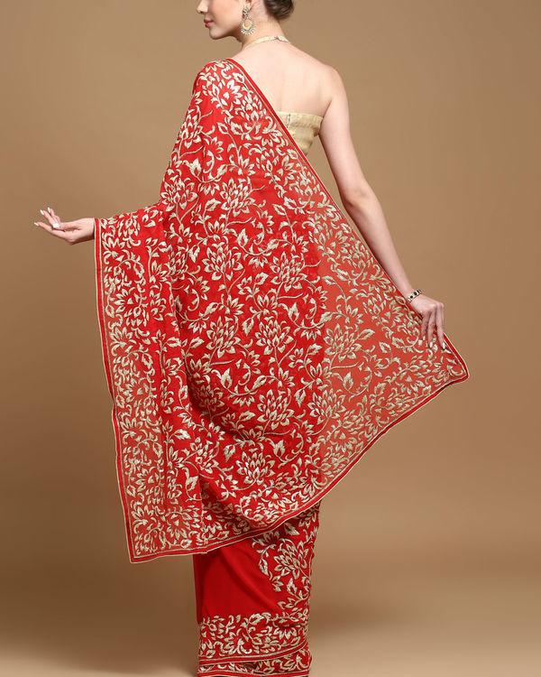 Mughal love sari 1