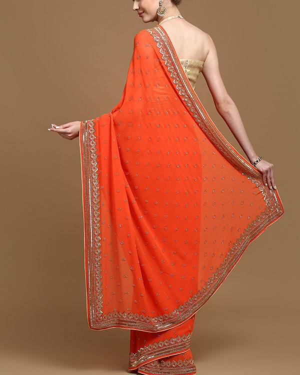 Aztec passion sari 1