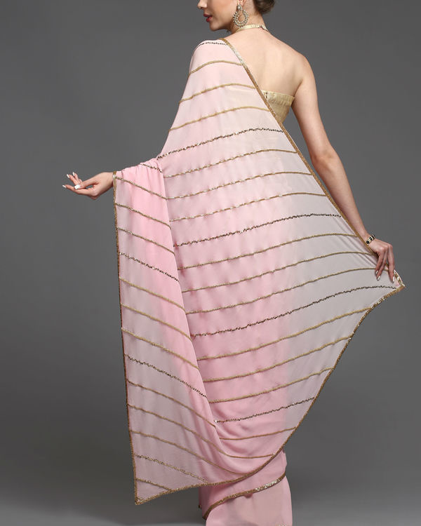 Slanted charm sari 1