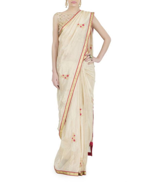 Rose gold sari 1