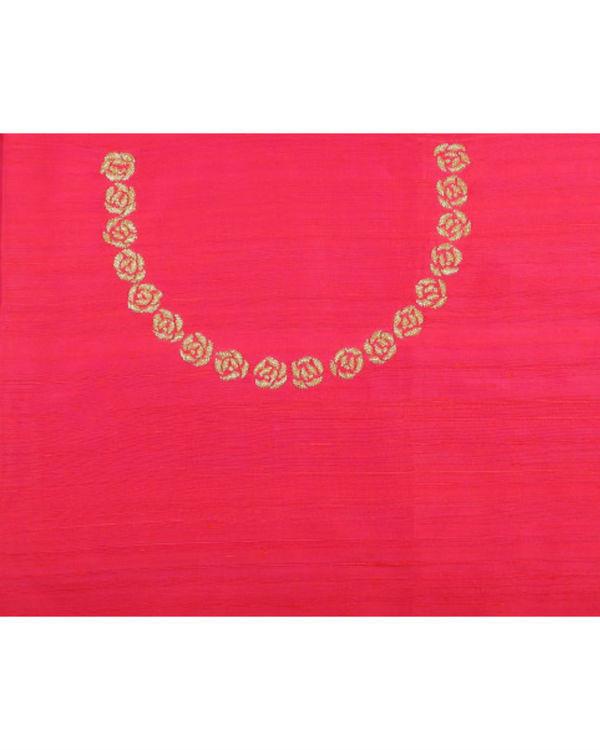 Rose gold sari 2