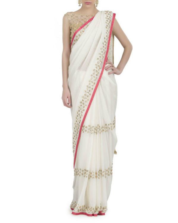 Ivory serenity sari 1