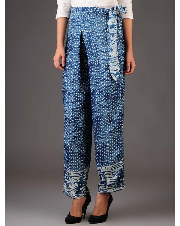 Rosette bow trouser 1