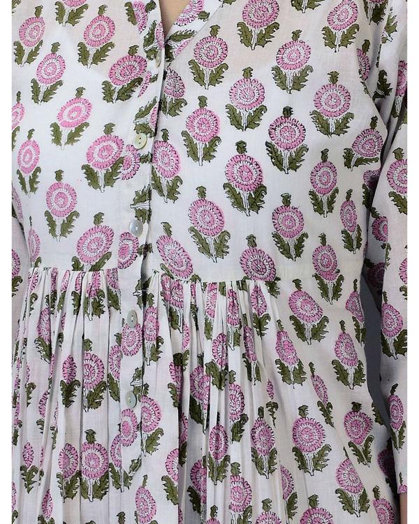 Pink floral dress 2