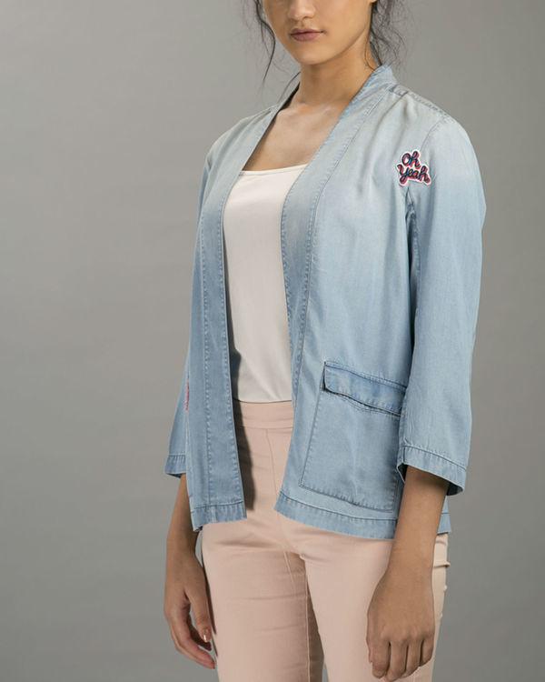 Denim patch jacket 1