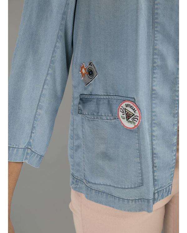 Denim patch jacket 2