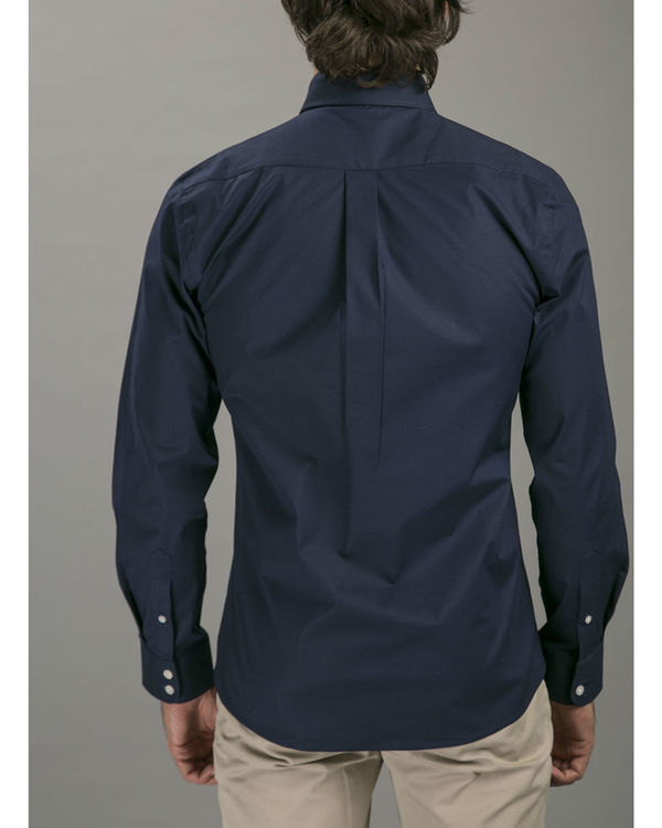 Navy formal shirt 1