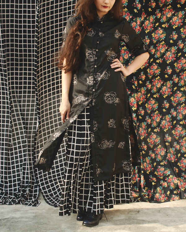 Black rose tunic 1
