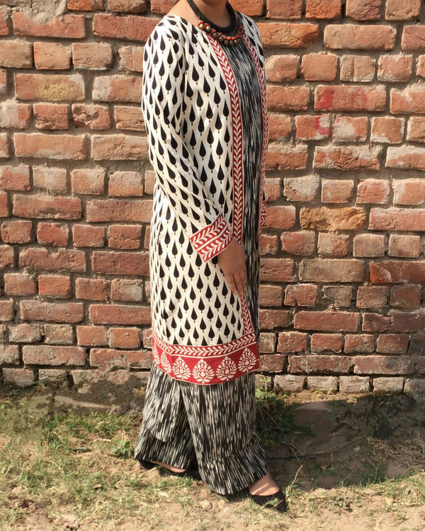 Triple layered kurta set 1
