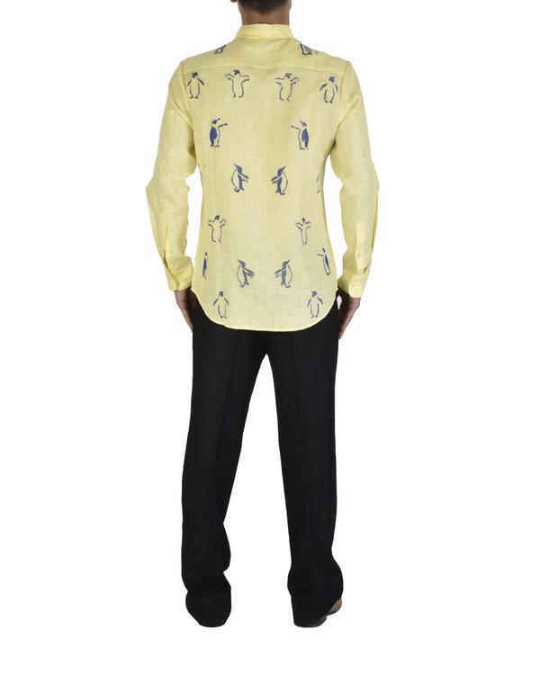 Light yellow shirt 1