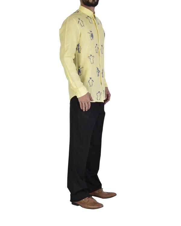 Light yellow shirt 2
