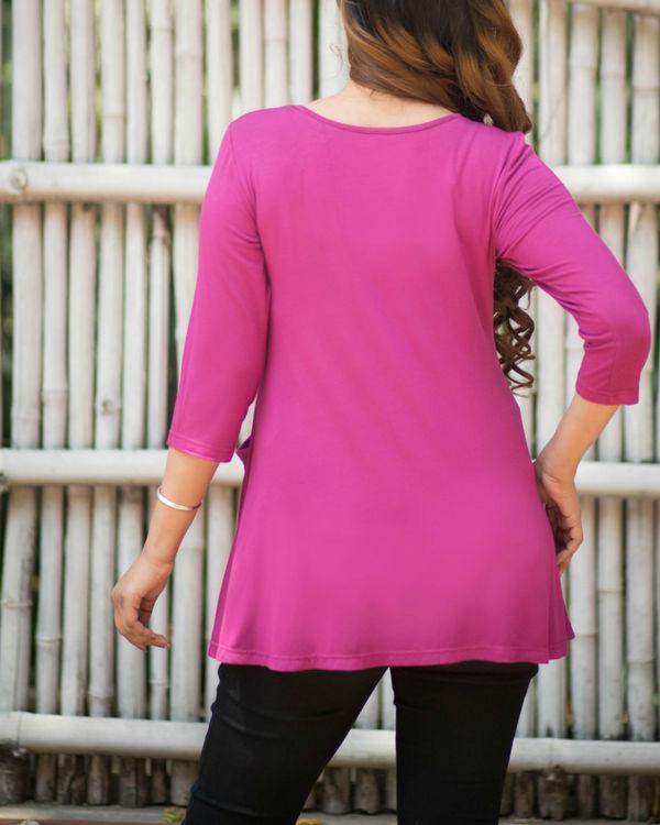 Pink pocket tunic 2
