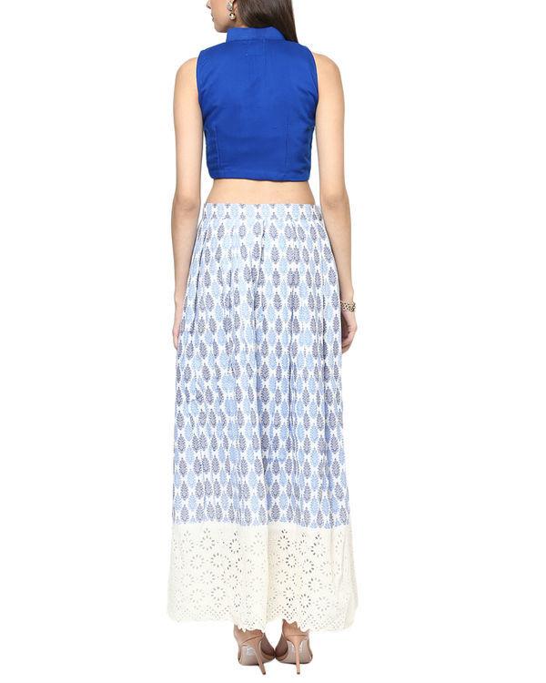 White long skirt 1