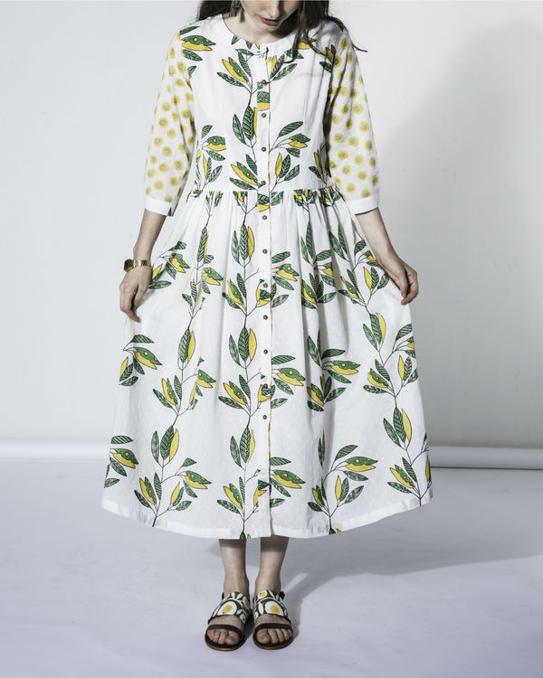 Leaf folla dress 1