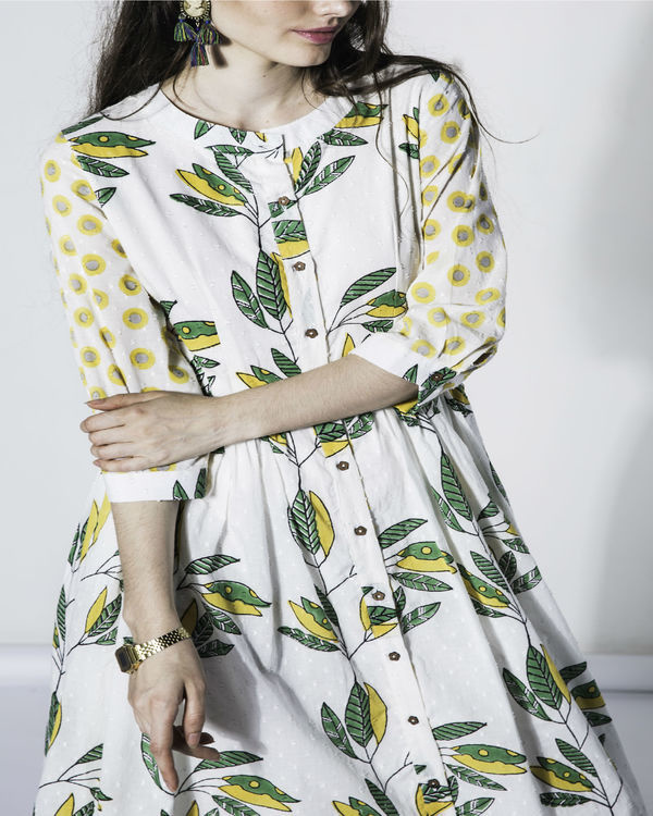 Leaf folla dress 3