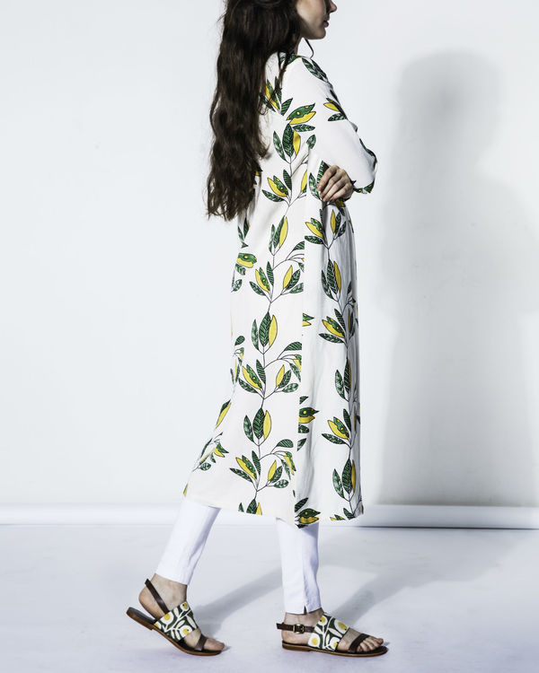 Leaf cotton tunic 2